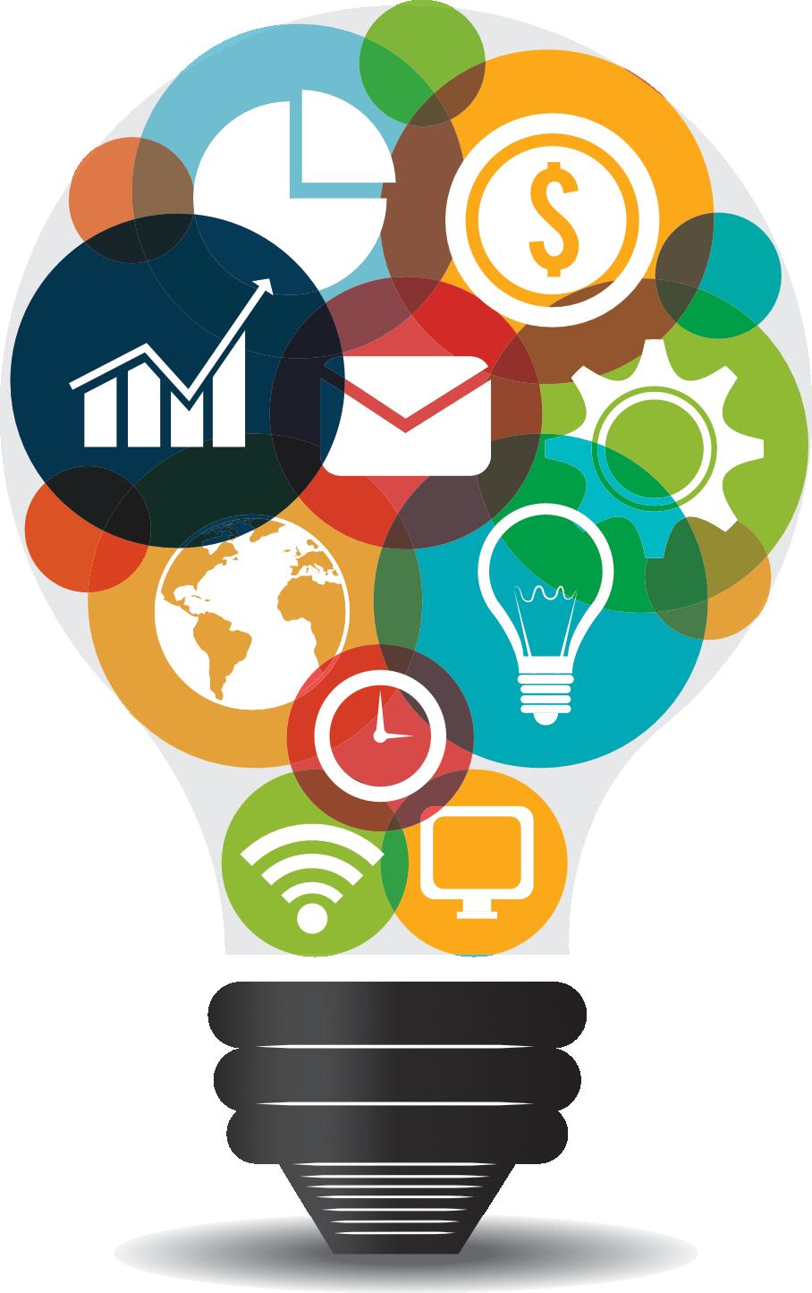 Digital Marketing Idea Icon