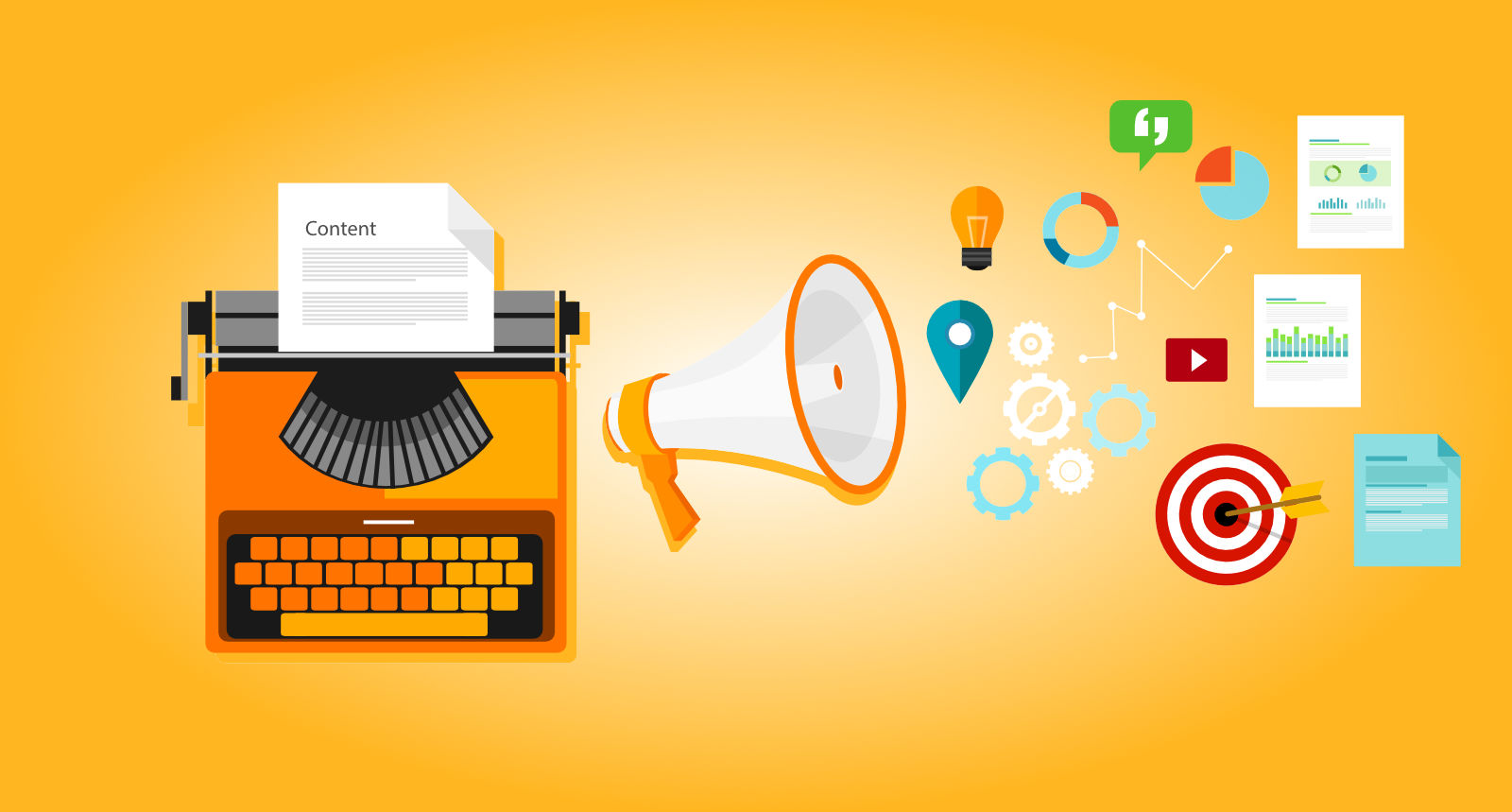 At the heart of digital marketing strategy is content marketing