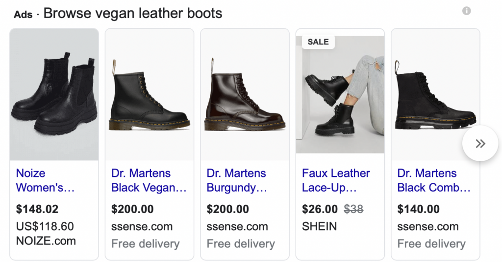 ppc management services - shopping ads