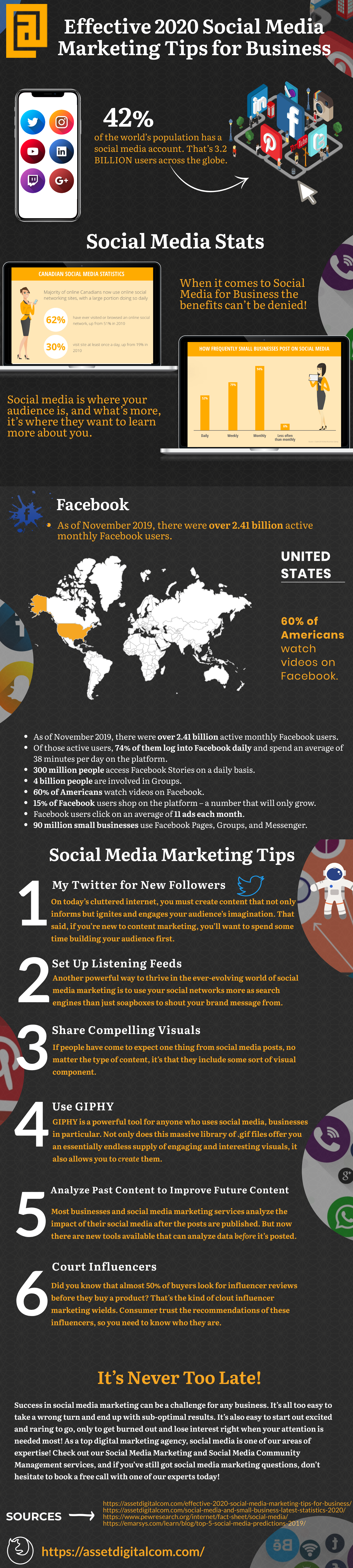 Effective 2020 Social Media Marketing Tips for Business